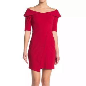 Vanity Room XL Red Off-the-Shoulder Dress